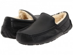 Мужские ugg Ascot Leather Black