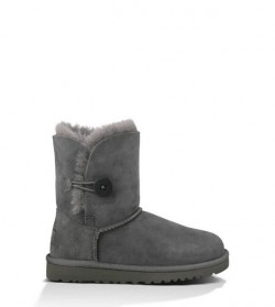 Детские ugg Baby Bailey Button Grey