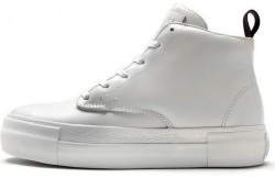 Женские хайтопы Eytys Odyssey Suede High-Top Sneakers White