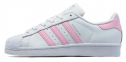 Женские кеды Adidas Originals Superstar White/Pink